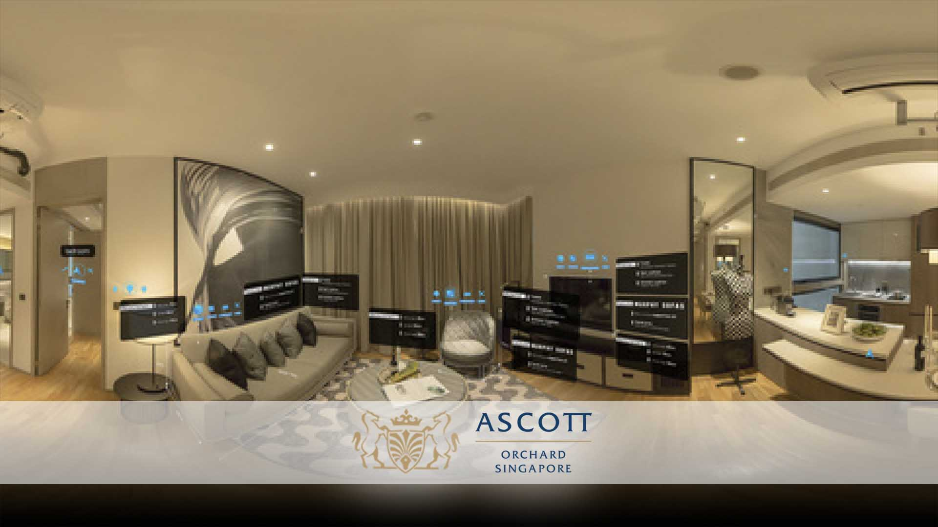 Ascott Orchard Singapore Interactive VR Experience