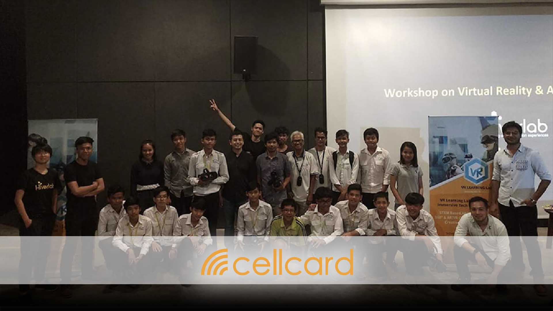 AR VR Workshop for Cellcard