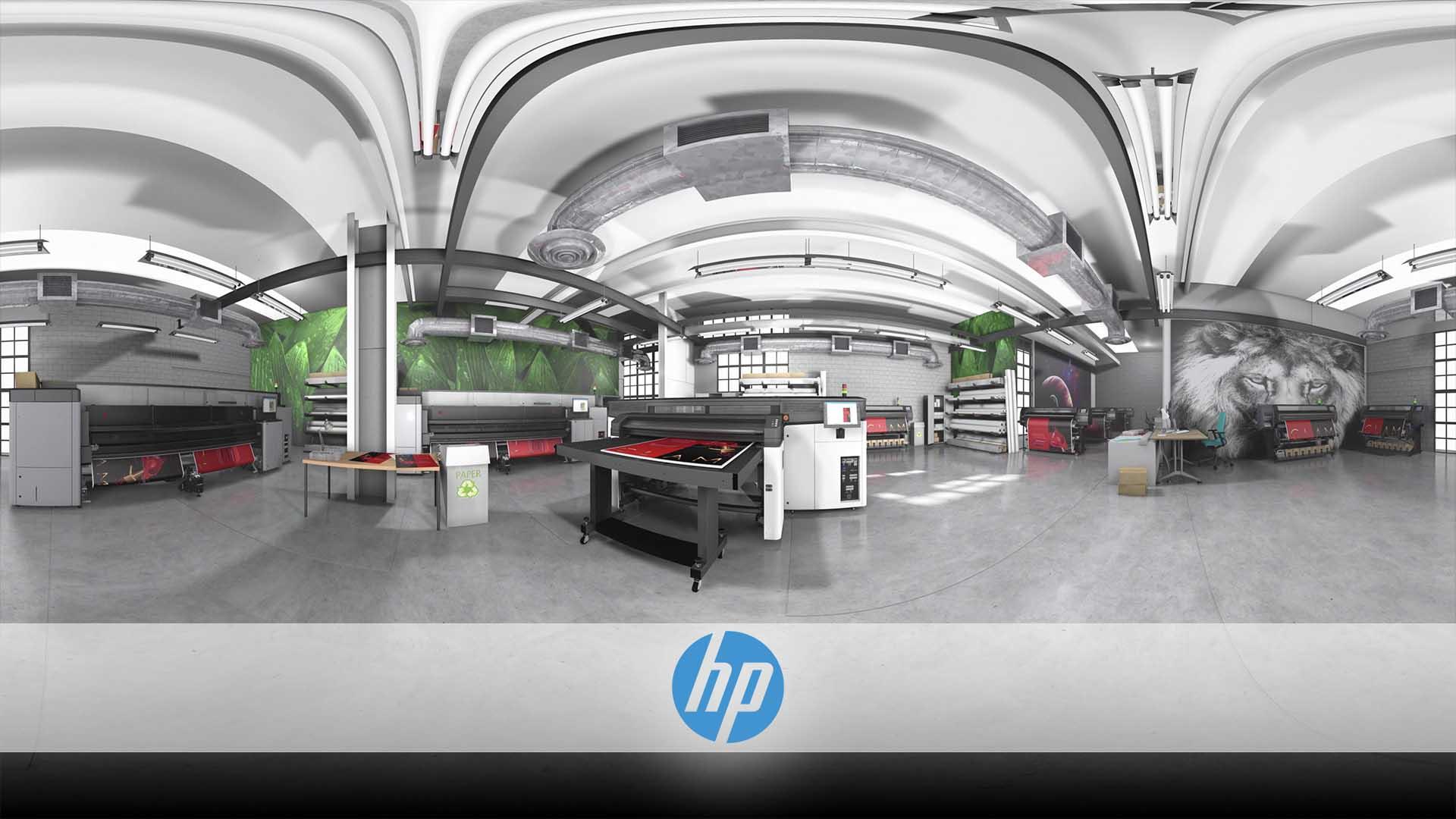 HP Printer VR Showroom