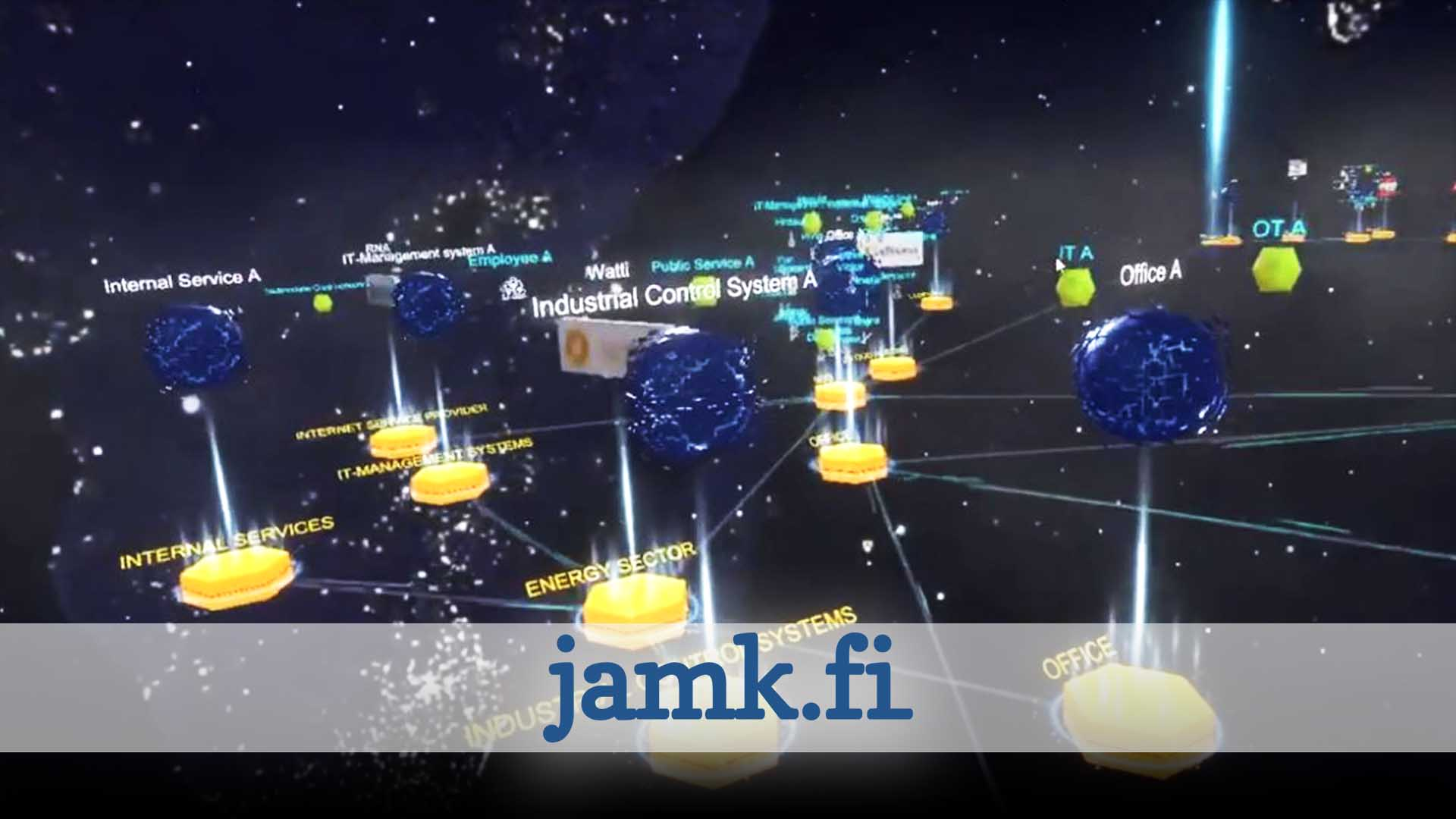 JAMK Cyber Security VR Training