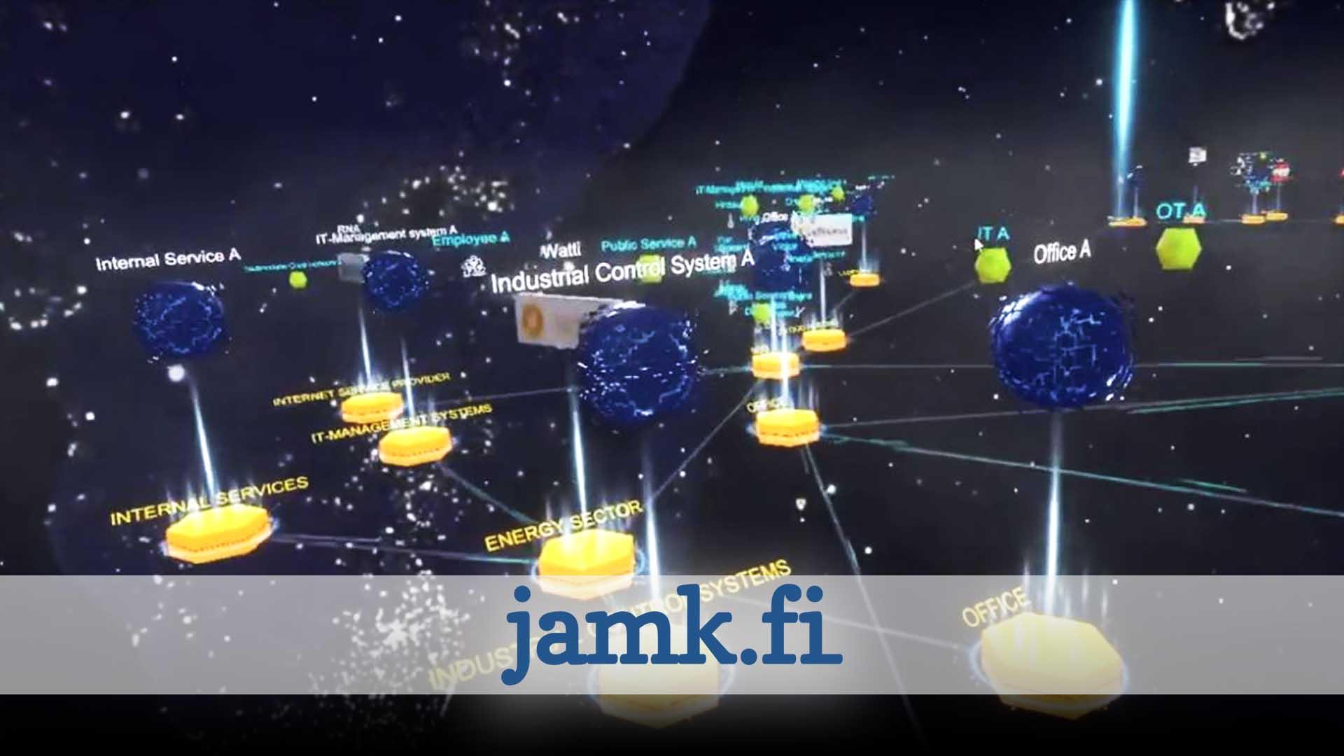 JAMK Cyber Security VR Training