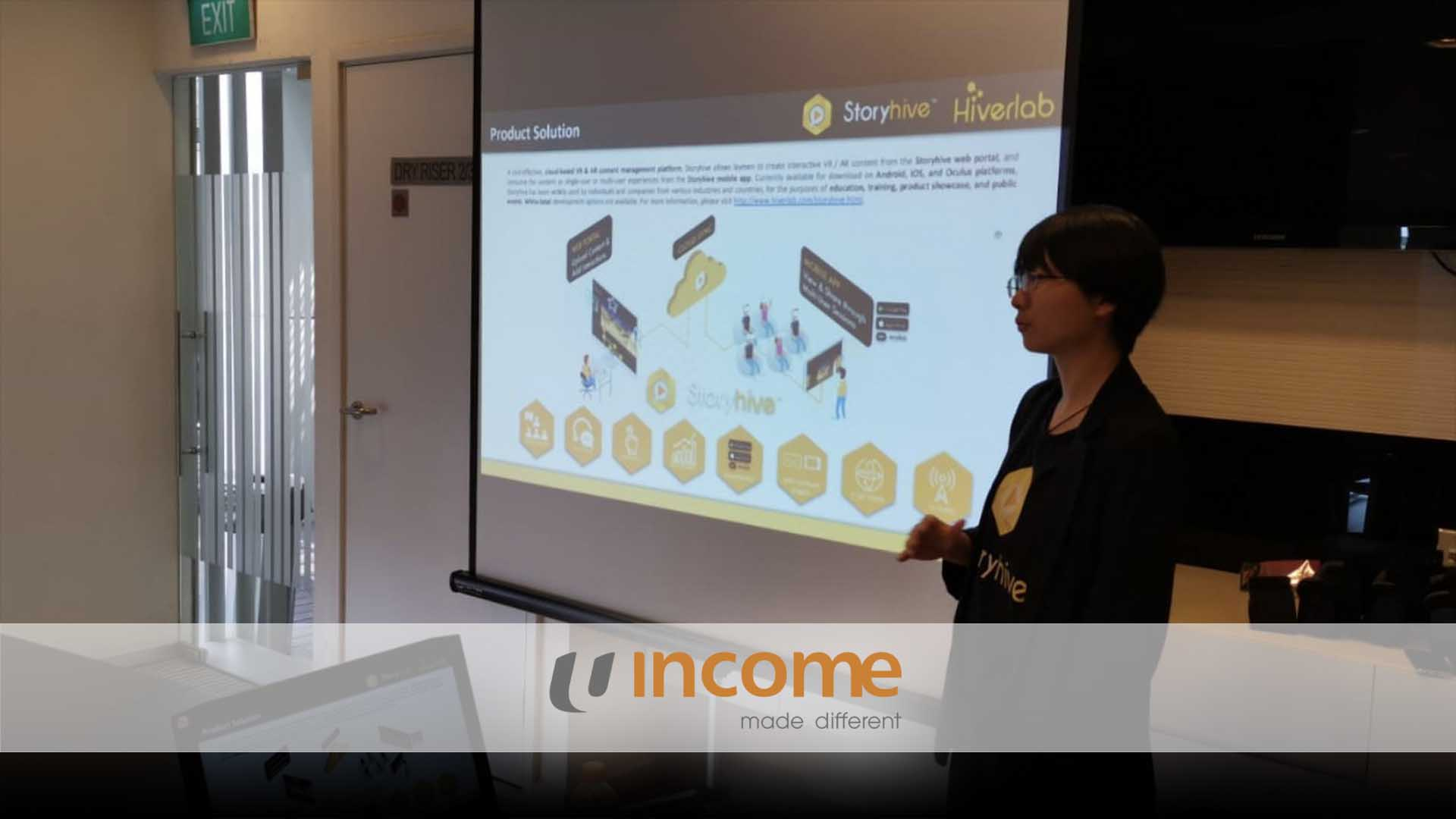 AR VR Workshop for NTUC Income