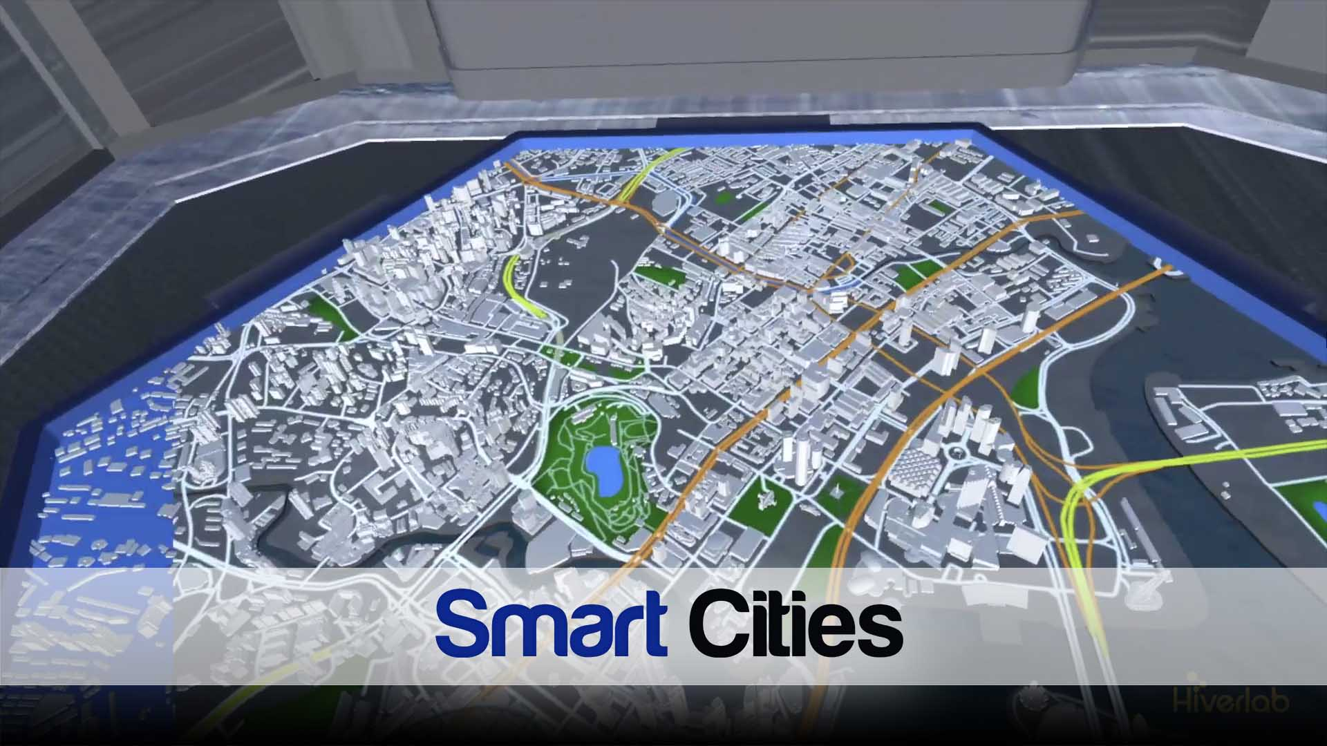Smart City real time data visualization