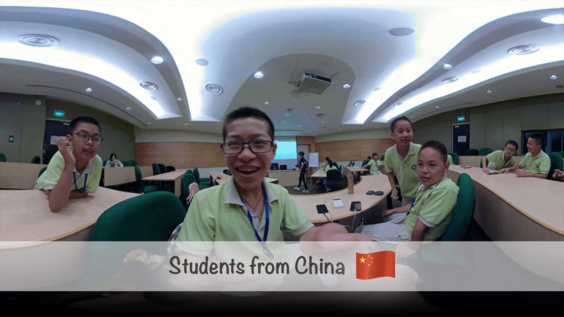 AR VR Workshop for Students from China