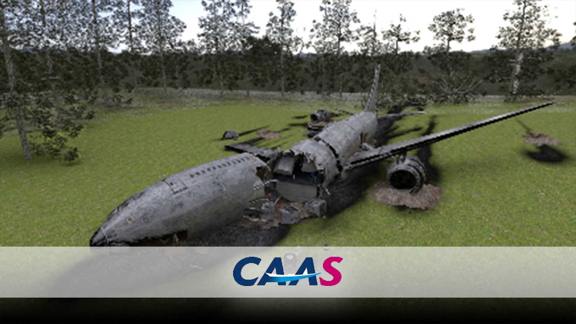 CAAS Aircraft Crash VR Investigation